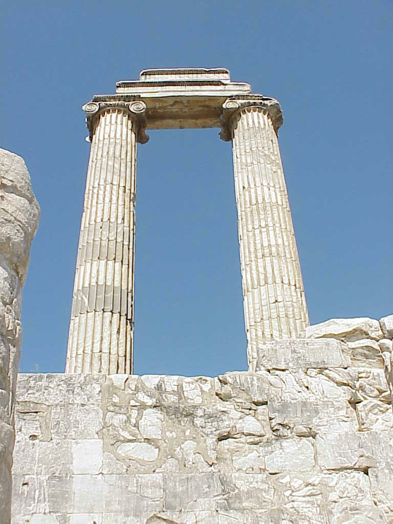 Columns,    Apollo Temple , Didyma,  Turkey