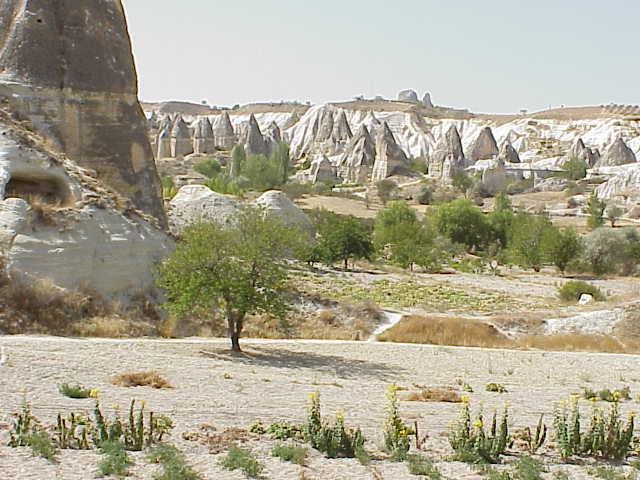 Rock formations,           Goreme