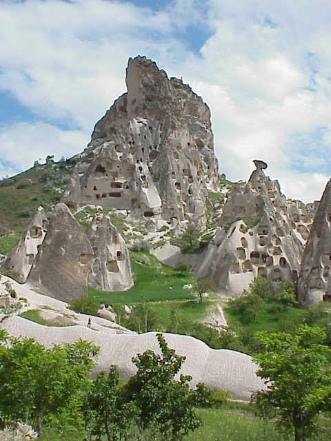 Uchisar castle Uchisar Cappadocia