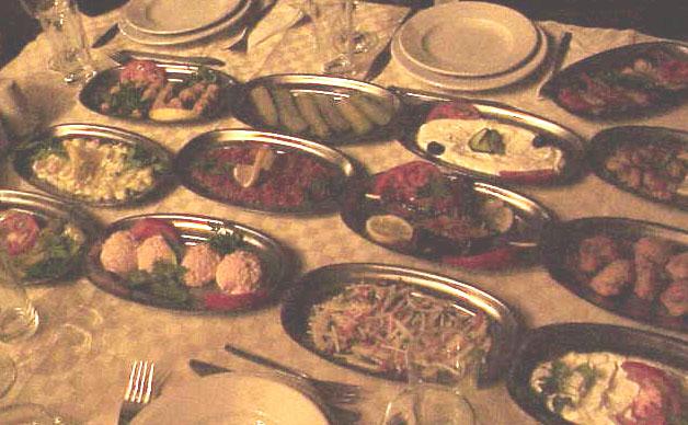 Dinner, cave restaurant        Goreme  Cappadocia