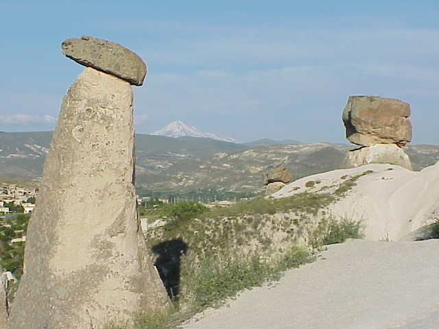 Fairy Chimney Hill             Cappadocia