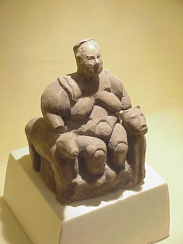 Mother Goddess         Catal Hoyuk