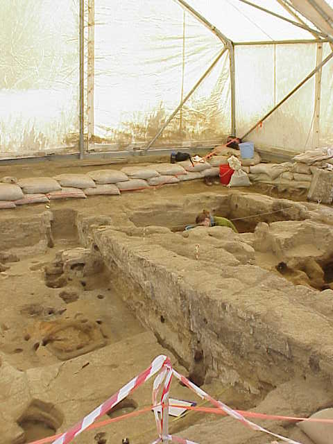 Excavations            Catal Hoyuk