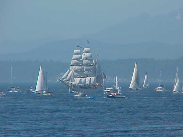 Europa, sailing ship      Tall Ships Festival     Seattle