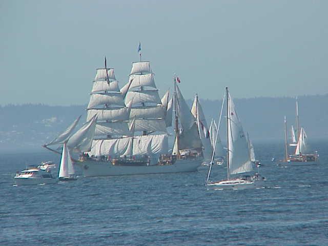 Europa, sailing ship      Tall Ships Festival     Seattle