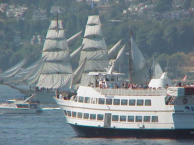 Argosy & Europa   Tall Ships Festival     Seattle