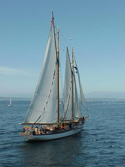 Schooner   Tall Ships Festival    Seattle