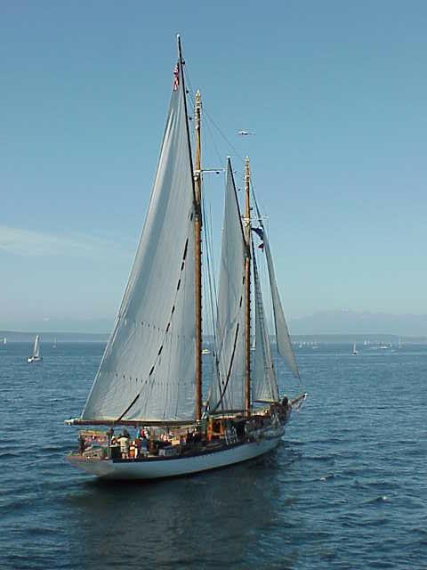 Schooner   Tall Ships Festival    Seattle