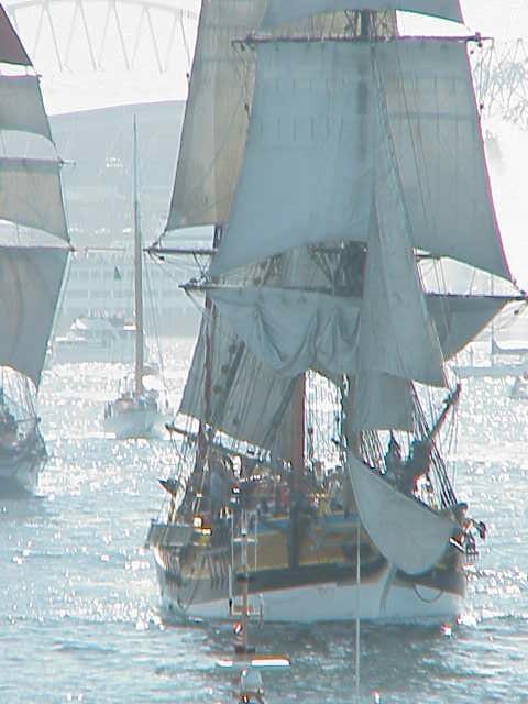 Tall ships, Seahawks Stadium      Tall Ships Festival     Seattle