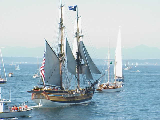 Brig  Tall Ships Festival Seattle