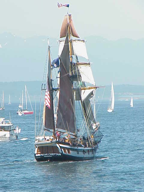 Hawaiian Chieftain        Tall Ships Festival     Seattle