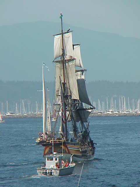Stern, tall ship  Tall Ships Festival     Seattle