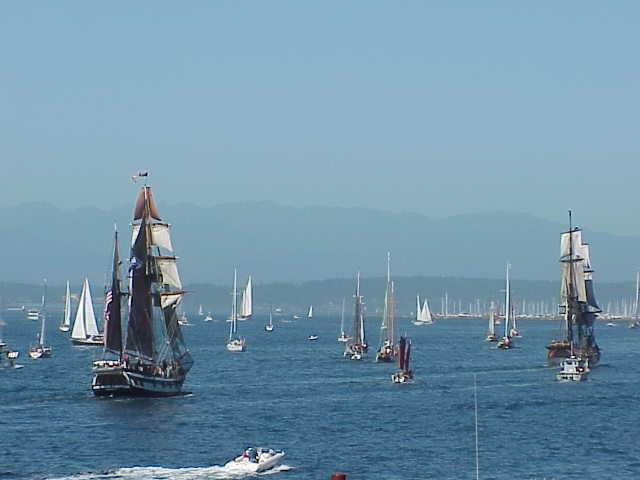 Tall ships Tall Ships Festival    Seattle