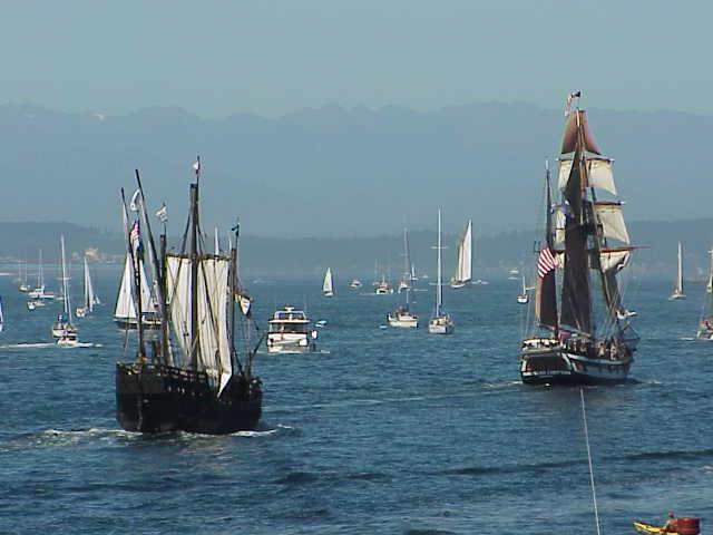 Nina, Hawaiian Chieftain  Tall Ships Festival     Seattle