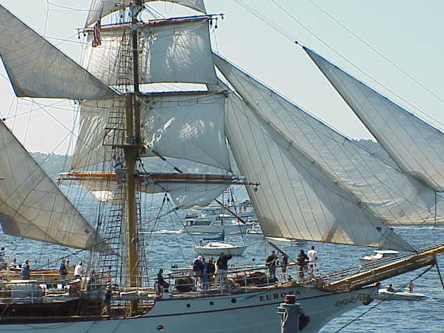 Europa, barquentine,       Tall Ships Festival     Seattle