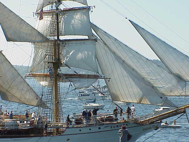 Europa, barquentine,       Tall Ships Festival     Seattle