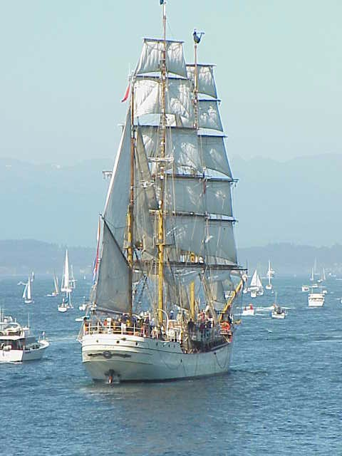 Europa     Tall Ships Festival    Seattle