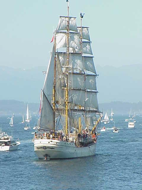 Europa     Tall Ships Festival    Seattle