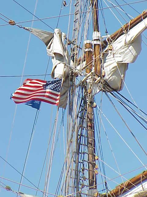 Flag & rigging, Europa    Tall Ships Festival