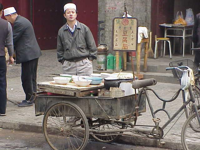 Food bike, vendor