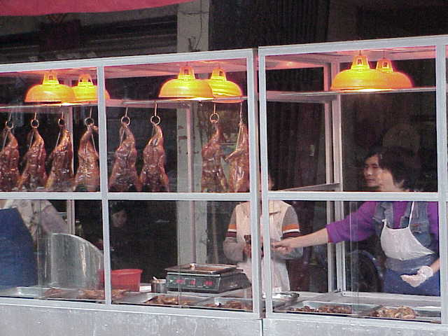 Takeout duck      Market  Guilin