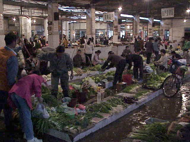 Vegetable market  Market  Guilin
