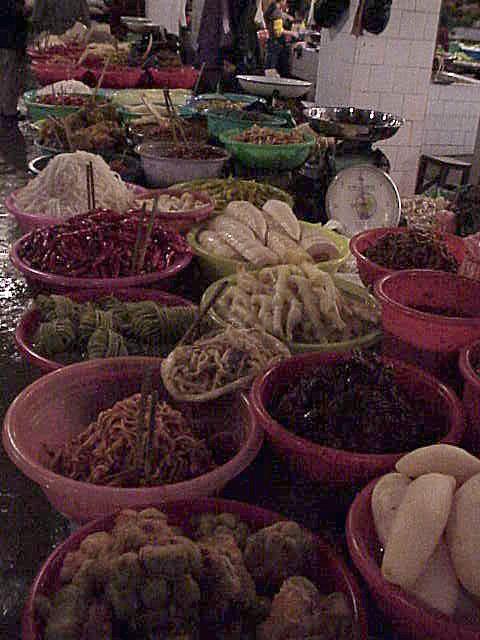 Mixed vegetables  Market  Guilin