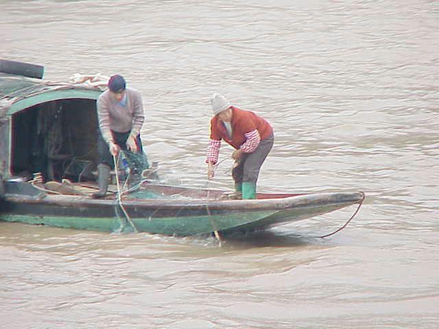 Fishermen,  Yangtze River