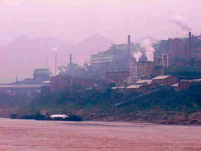 Factory,    Yangtze River