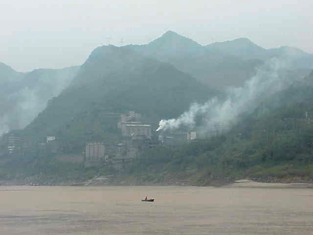 Factory,    Yangtze River