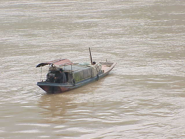 sampan,     Yangtze River  Fuling