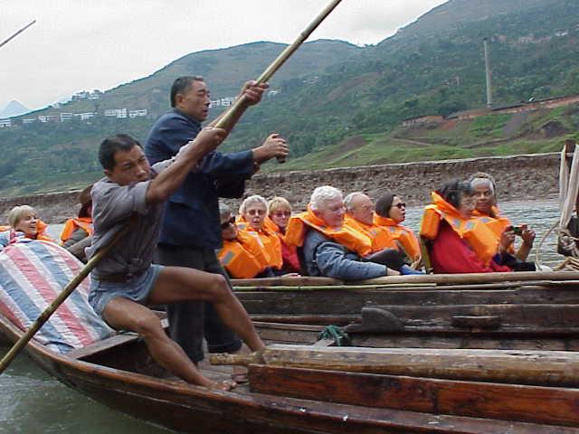 Boat 8     Shennong Stream        Badong