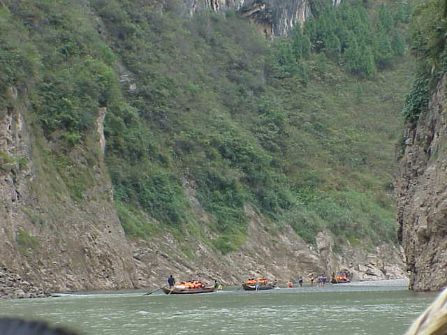 Entering gorge    , Shennong Stream, Badong