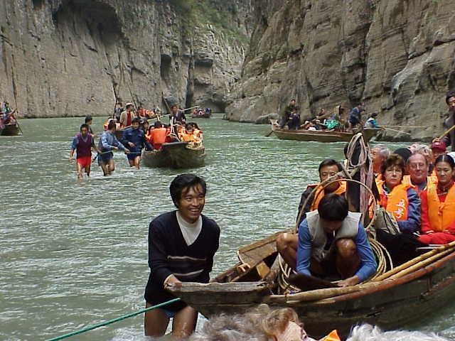 Coming ashore     , Shennong Stream, Badong
