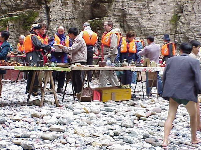 River shop Shennong Stream        Badong