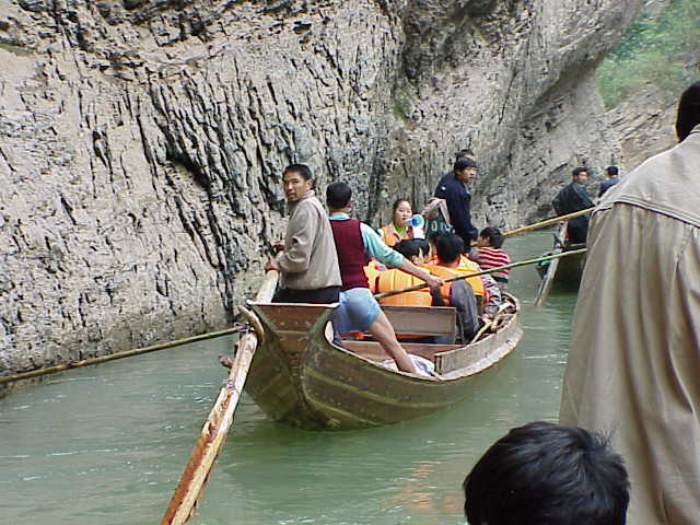 Heading back downstream   , Shennong Stream, Badong