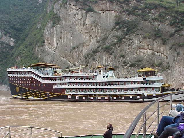 Cruise ship,       Yangtze River