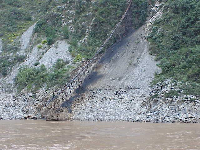 Coal sluice,       Yangtze River