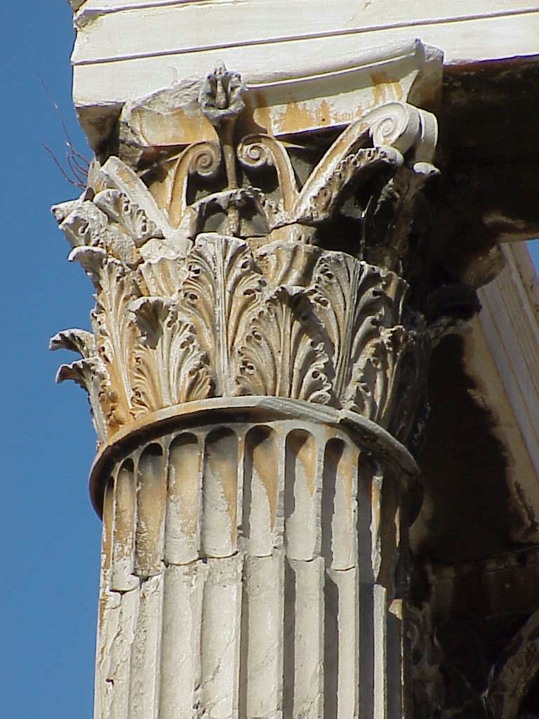 gallery for corinthian greek columns