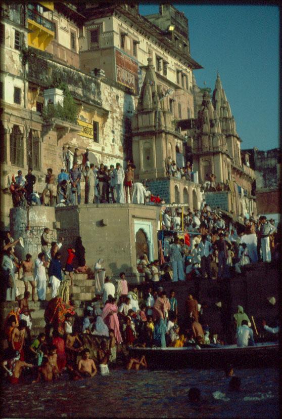 Bathers, Ganges  Varanasi
