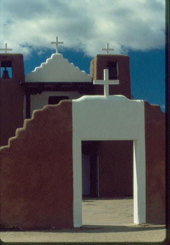 Church yard, Taos PuebloTaos