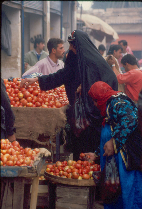 Woman buying tomatoes		Deir Er-Zor	Syria