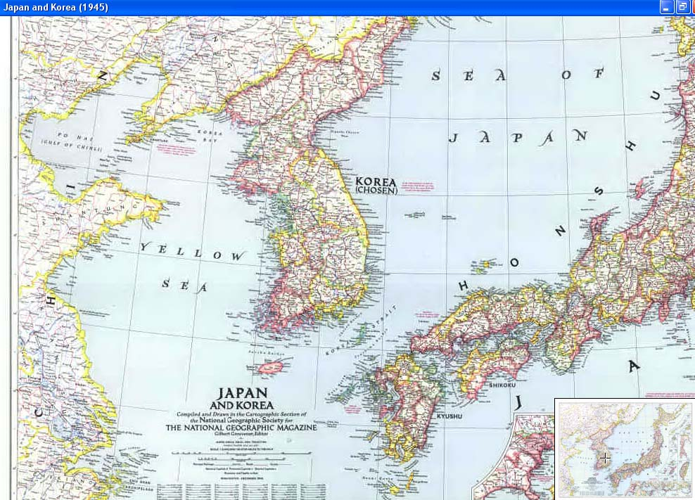 Cascoly Mapjapanbr Maps For Sale - Japan map 1945