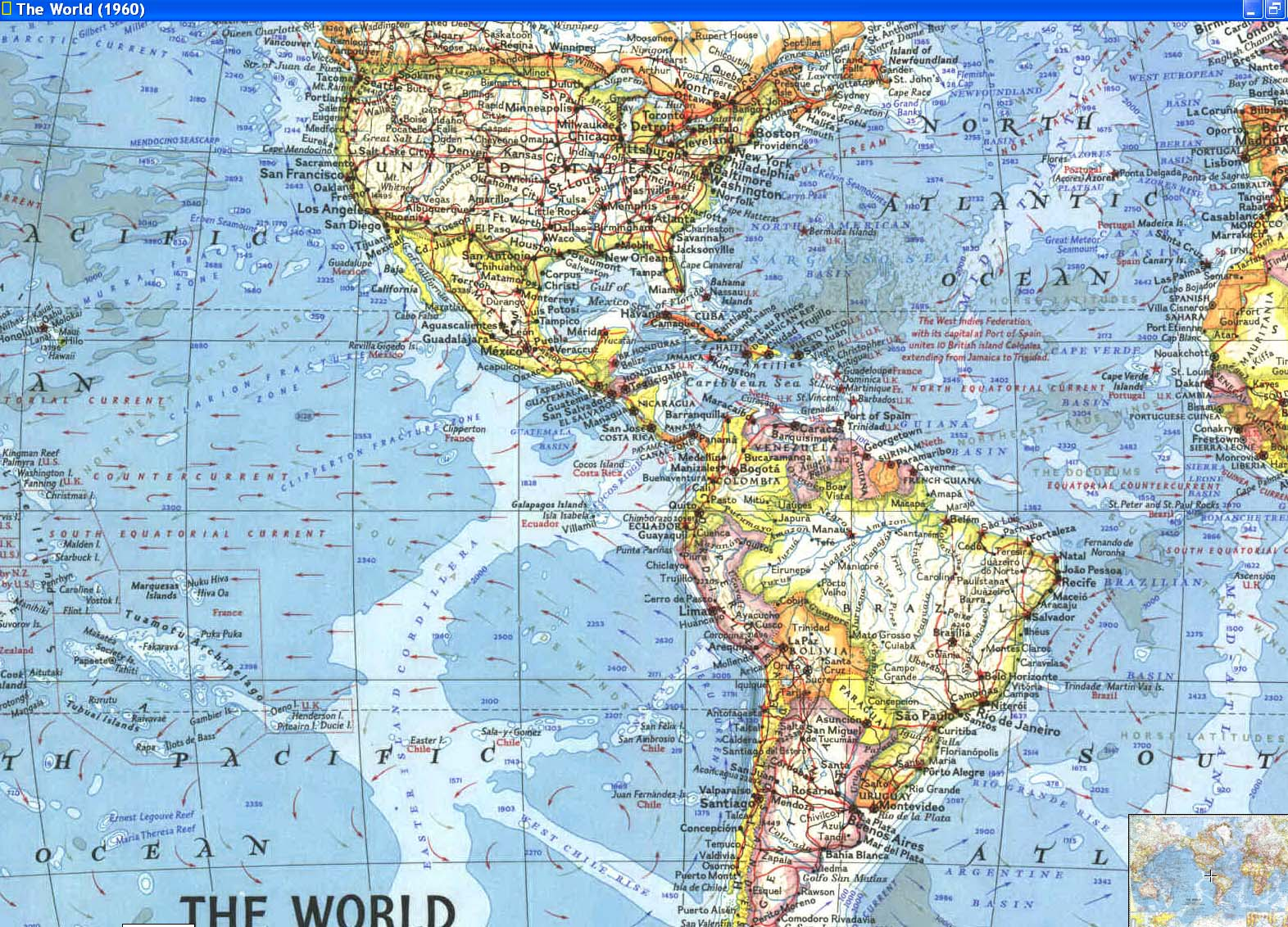 Cascoly map 1960 worldbr maps for sale order national geographic maps gumiabroncs Gallery