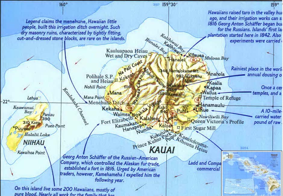 Map - 1983 - Making of America: Hawaii<br>