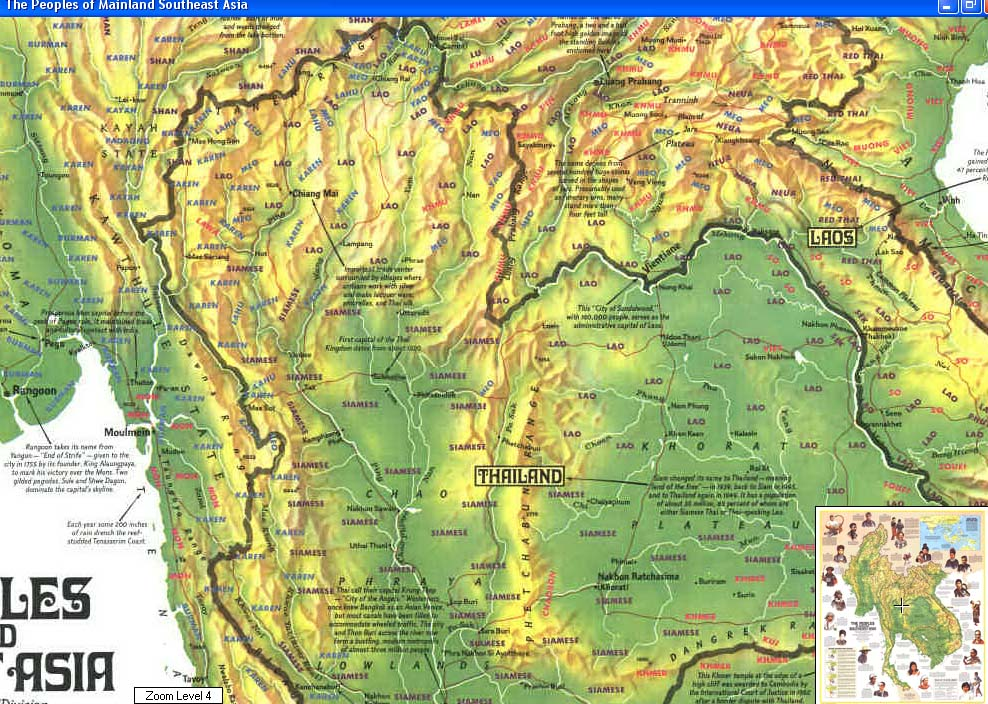 Maps Update 1200913 Geographical Map of Southeast Asia – Asia Geography Map